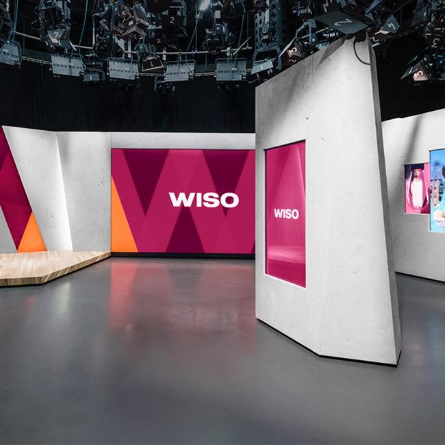 Mobile LED-Videowand P1.5 für den Fernsehsender ZDF, Mainz