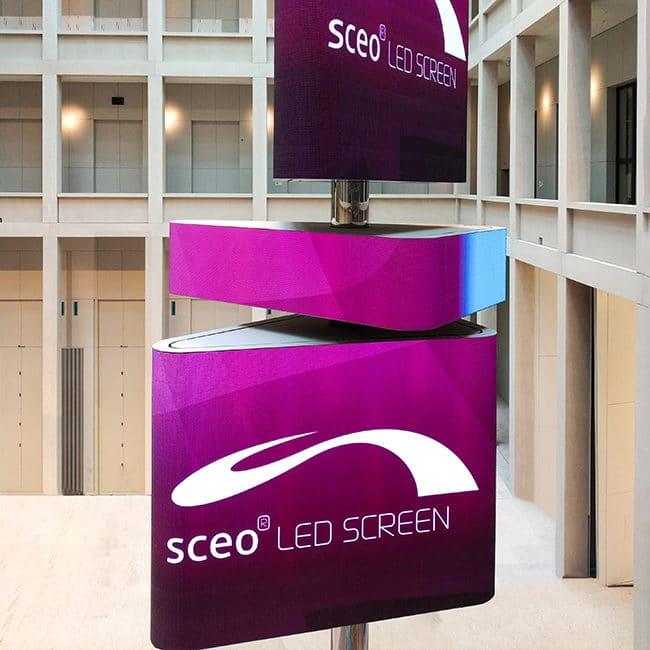 Energooszczędne ekrany led sceo ledscreen